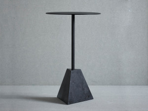 Friends & Founders Knockout Side Table with Pyramid Base