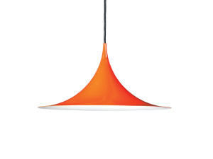 View Gubi Semi Pendant Light Orange