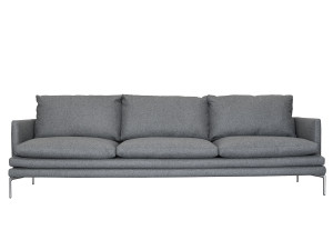 Zanotta 1330 William Three Seater Sofa Grey