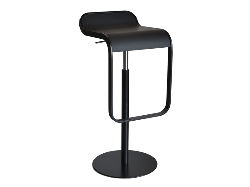 Buy the lapalma lem bar stool powder coated at for Lem lapalma