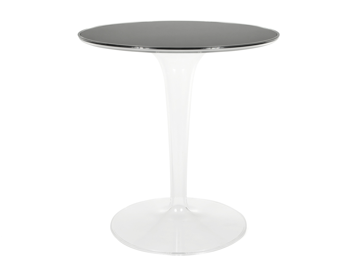 Small Black Glass Tables: Buy The Kartell TipTop Side Table Glass At Nest.co.uk