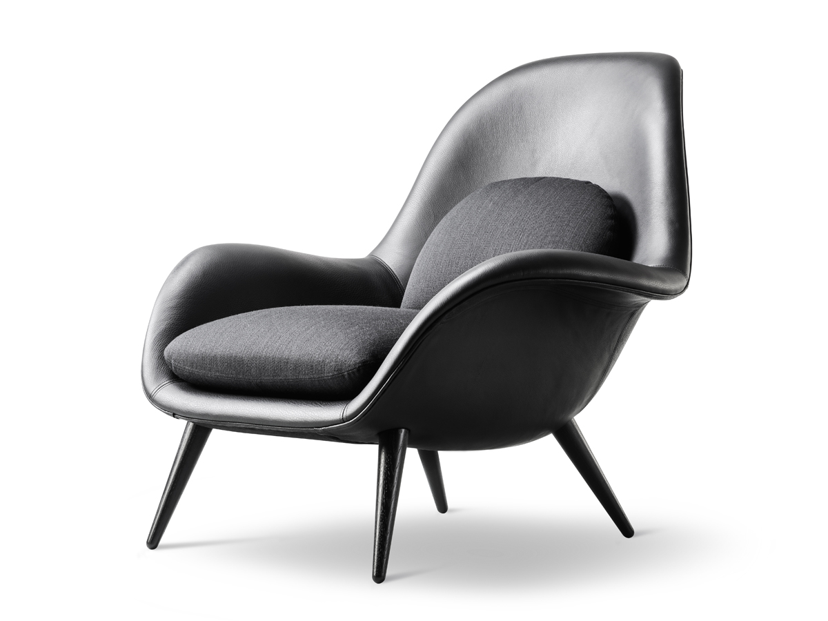 Buy The Fredericia Swoon Lounge Chair At Nest Co Uk