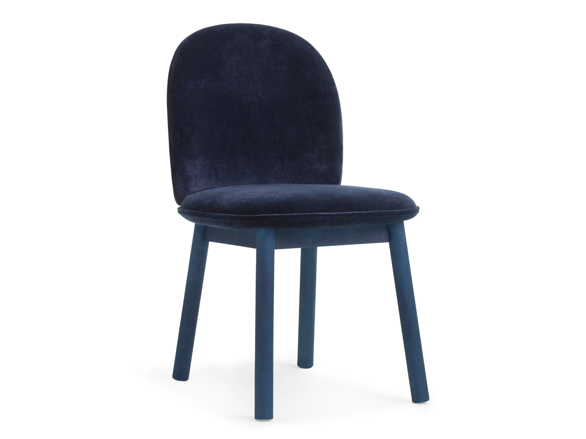 buy the normann copenhagen ace dining chair velour at. Black Bedroom Furniture Sets. Home Design Ideas