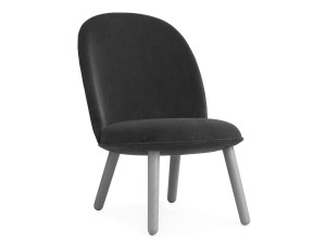 Launge Chair buy the normann copenhagen ace lounge chair velour at nest.co.uk