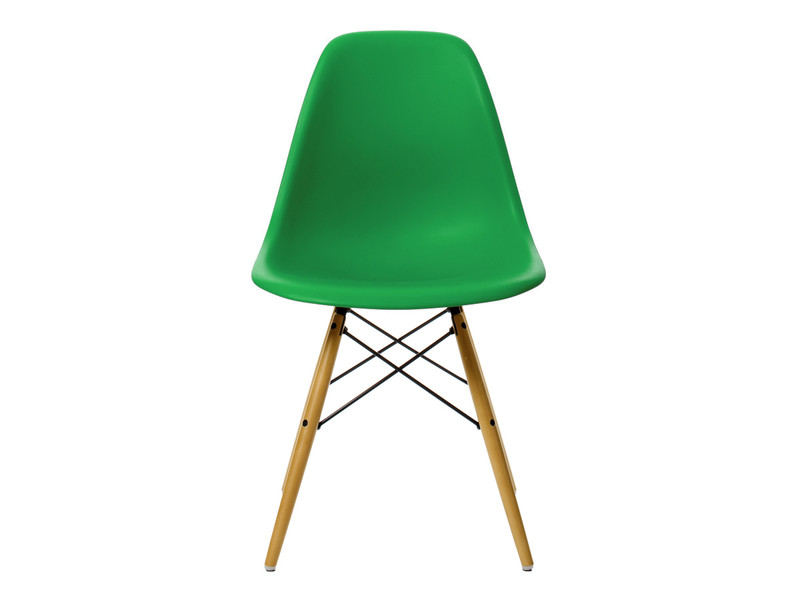 Vitra DSW Eames Plastic Side Chair Golden Maple BaseBuy the Vitra DSW Eames Plastic Side Chair Golden Maple Base at  . Eames Dsw Chair Green. Home Design Ideas