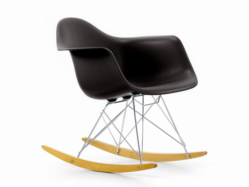 Vitra Sedia A Dondolo Eames Plastic Armchair Rar : Buy the vitra rar eames plastic rocking chair at nest.co.uk