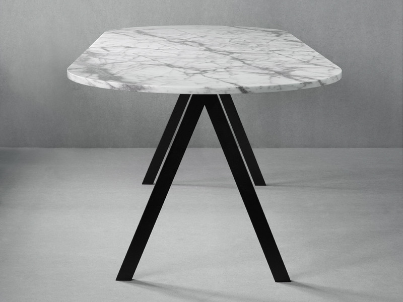 Buy The Friends Amp Founders Saw Dining Table Marble At Nest
