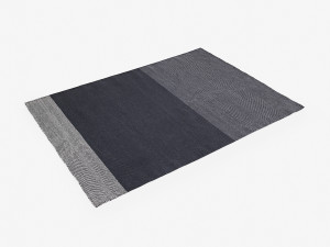 View Muuto Varjo Rug Dark Grey