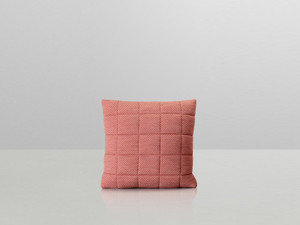 View Muuto Soft Grid Cushion Tangerine