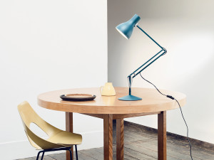 Anglepoise Type 75 Desk Lamp Margaret Howell Saxon Blue Edition