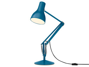 View Anglepoise Type 75 Desk Lamp Margaret Howell Saxon Blue Edition
