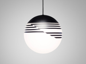 View Lee Broom Optical Pendant Light