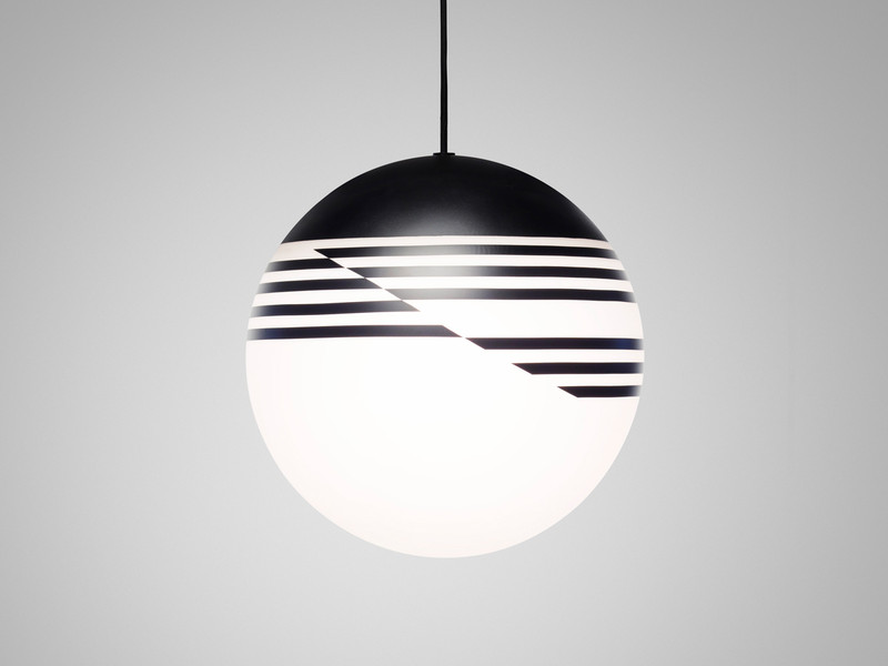 buy the lee broom optical pendant light at nest co uk