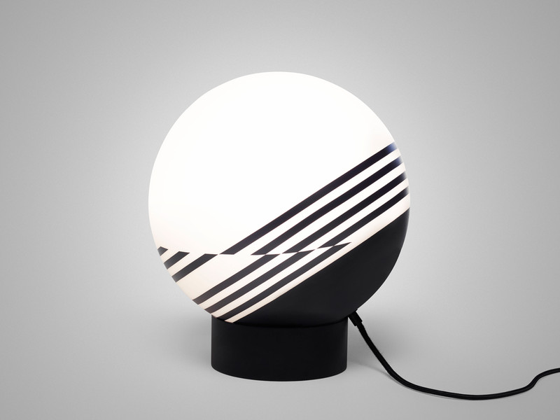 buy the lee broom optical table lamp at nest co uk
