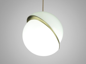 View Lee Broom Crescent Pendant Light