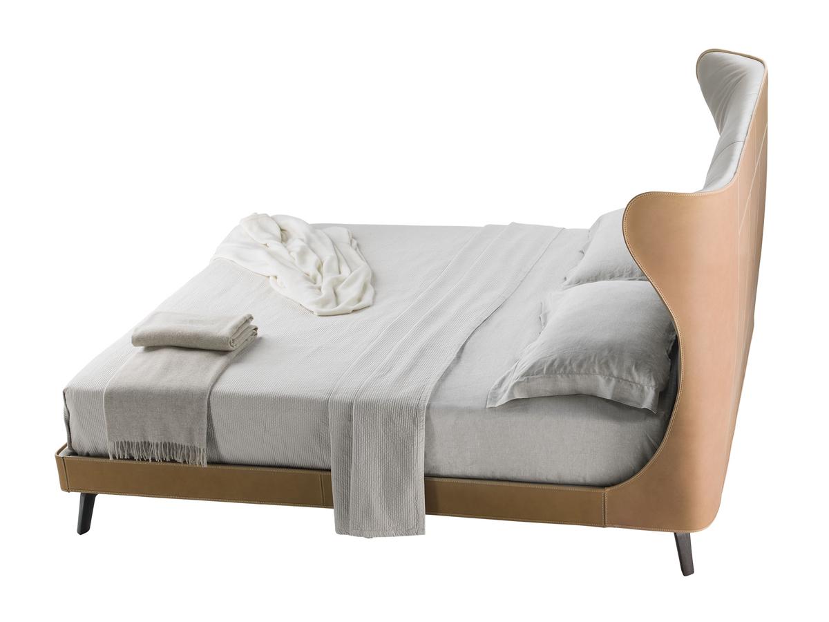 buy the poltrona frau mamy blue bed at. Black Bedroom Furniture Sets. Home Design Ideas