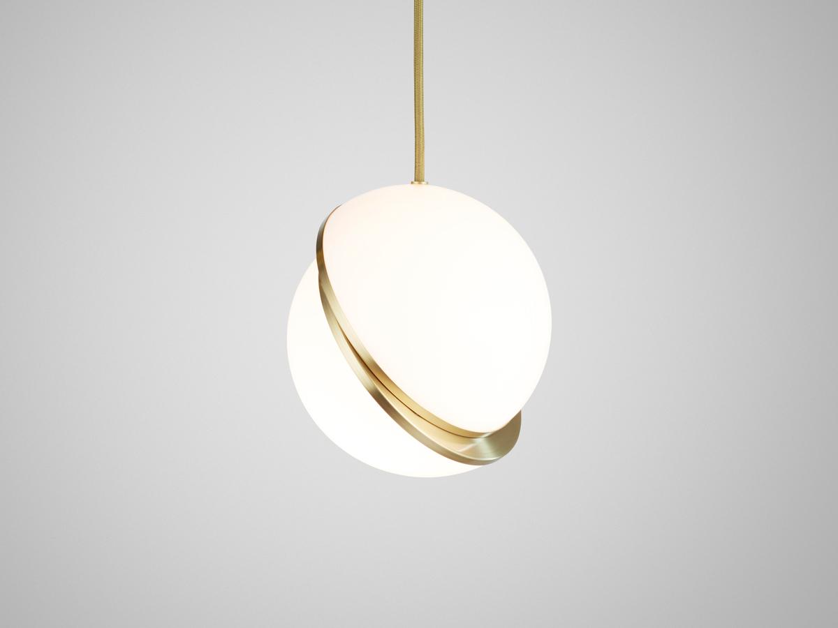 Buy The Lee Broom Mini Crescent Pendant Light At Nest Co Uk