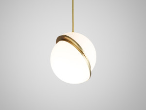 View Lee Broom Mini Crescent Pendant Light