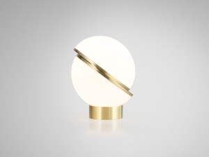 View Lee Broom Mini Crescent Table Lamp