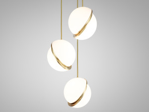 View Lee Broom Mini Crescent Chandelier