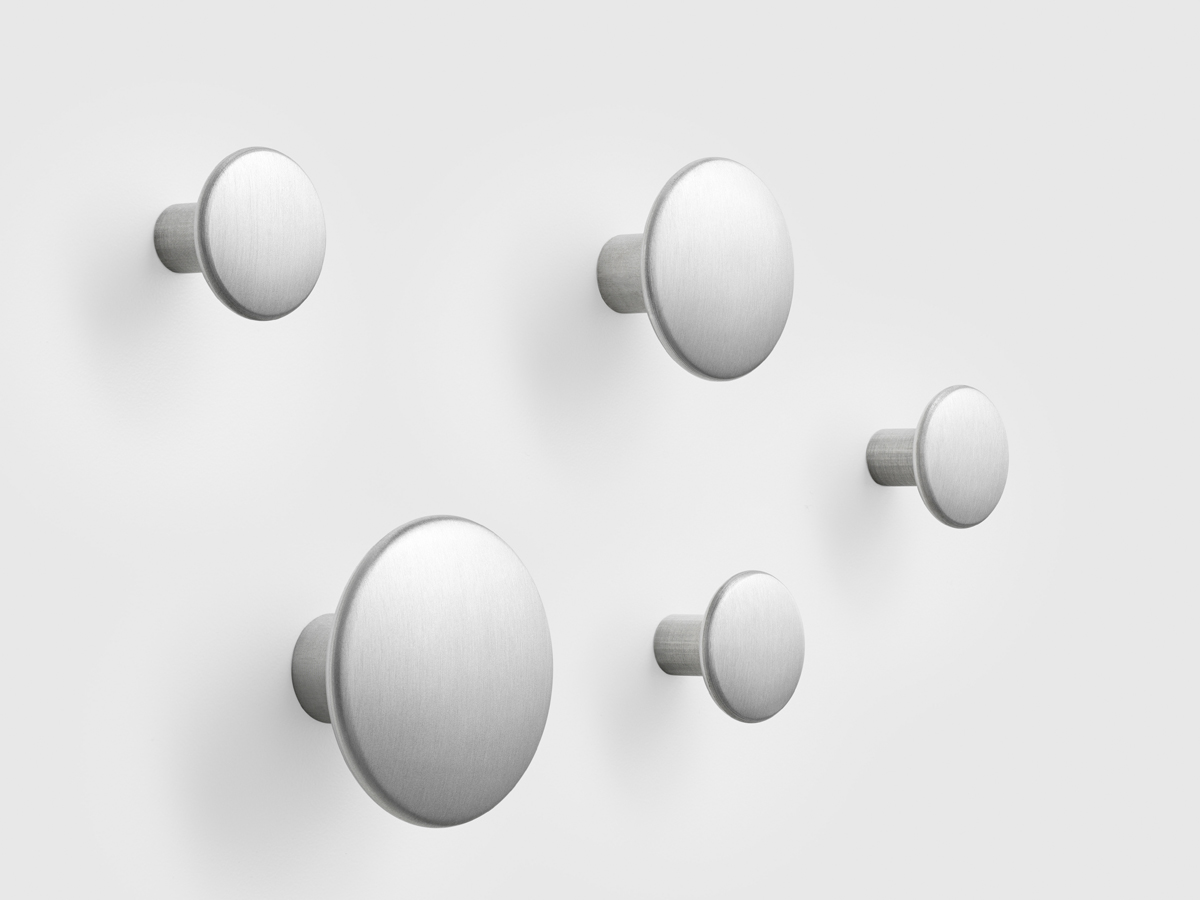 buy the muuto the dots metal coat hooks at nestcouk -  muuto the dots metal coat hooks