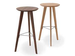 Zanotta 2286 Ido Bar Stool