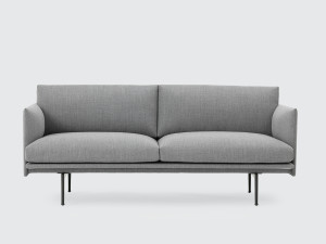 View Muuto Outline Two Seater Sofa