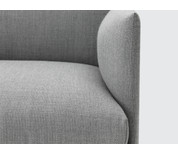 Muuto Outline Two Seater Sofa in Fiord Fabric