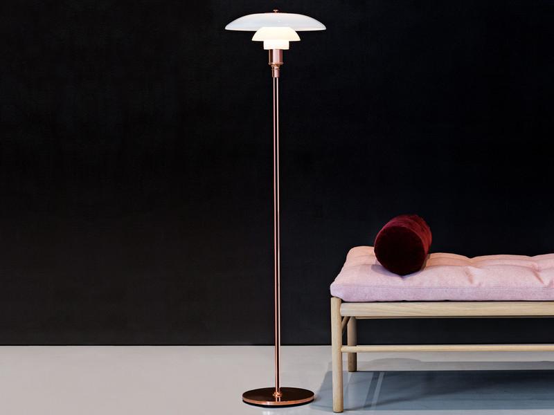 Louis Poulsen PH 3½-2½ Copper Floor Lamp - Limited Edition