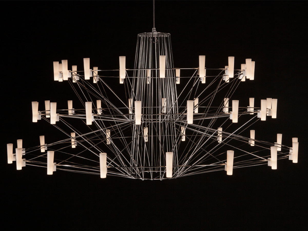 Buy the moooi coppelia suspension light at for Lights company