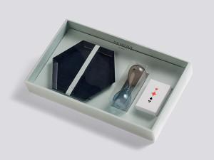 Hay Gift Box Decoration Medium