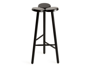 Internoitaliano Temu Bar Stool Black Ash