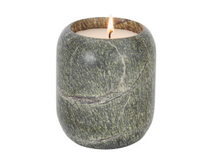 View Tom Dixon Materialism Stone Candle Medium