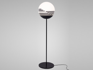 View Lee Broom Optical Floor Lamp