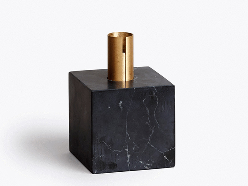 New Works Block Candle Holder