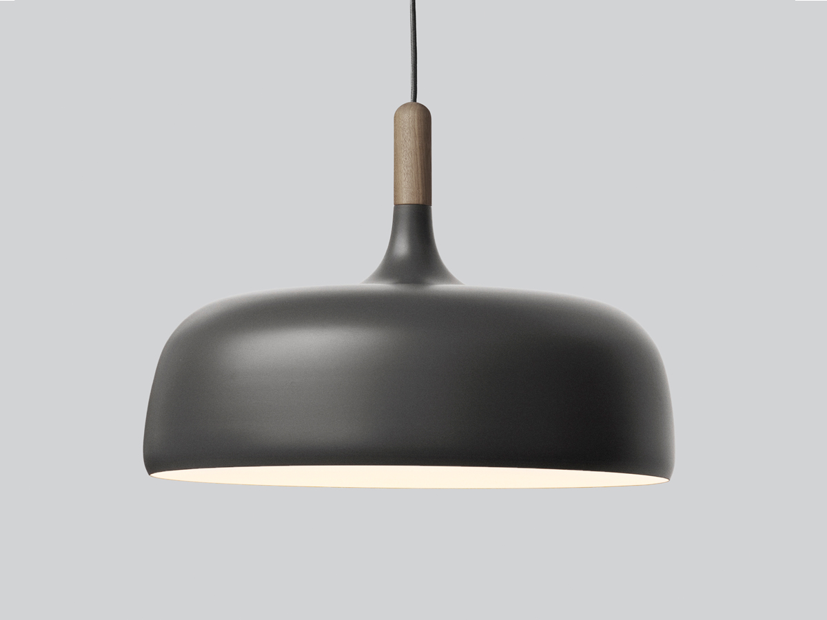 Buy The Northern Lighting Acorn Pendant Grey At Nestcouk