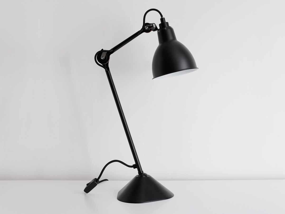buy the dcw editions lampe gras 205 table lamp at. Black Bedroom Furniture Sets. Home Design Ideas