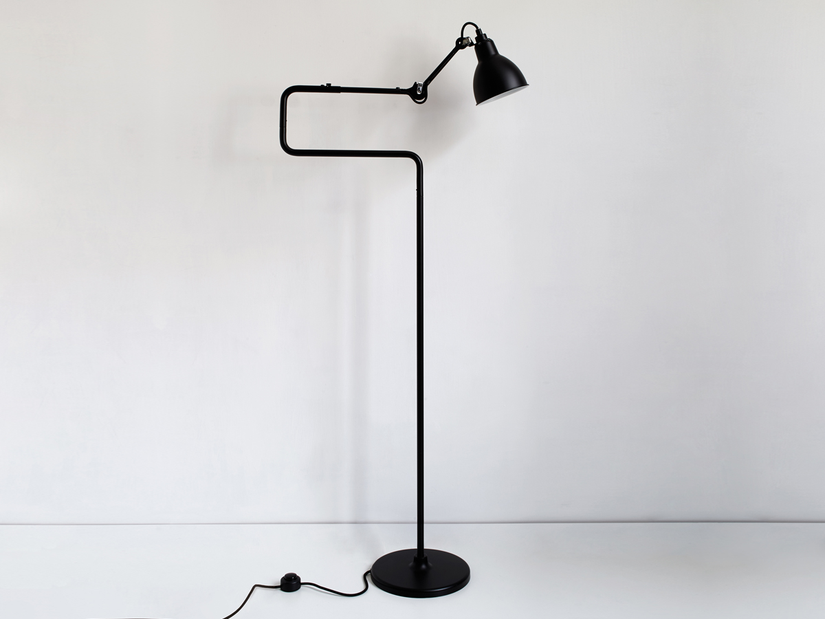 buy the dcw editions lampe gras 411 floor lamp at. Black Bedroom Furniture Sets. Home Design Ideas