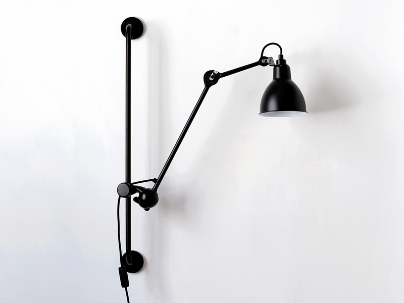 buy the dcw editions lampe gras 210 wall light at. Black Bedroom Furniture Sets. Home Design Ideas