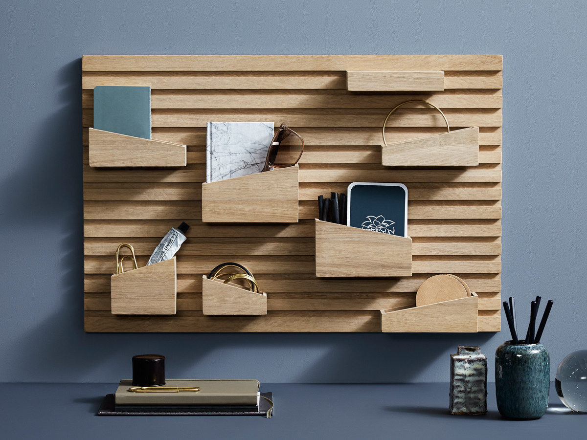 buy the woud input wall organiser at nest co uk