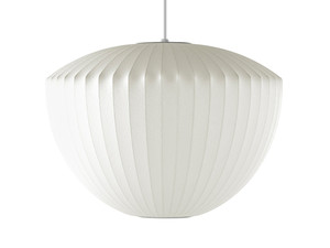 View Herman Miller George Nelson Bubble Apple Pendant Lamp