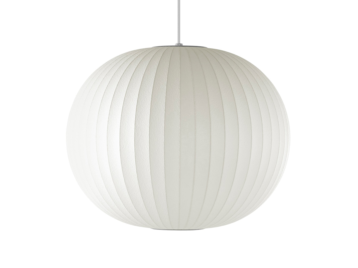 George nelson mid century lamps wall clocks at nest herman miller george nelson bubble ball pendant lamp aloadofball Image collections