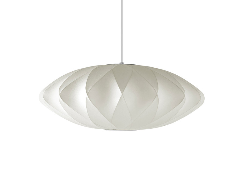 George Nelson Bubble Crisscross Saucer Pendant Lamp Small