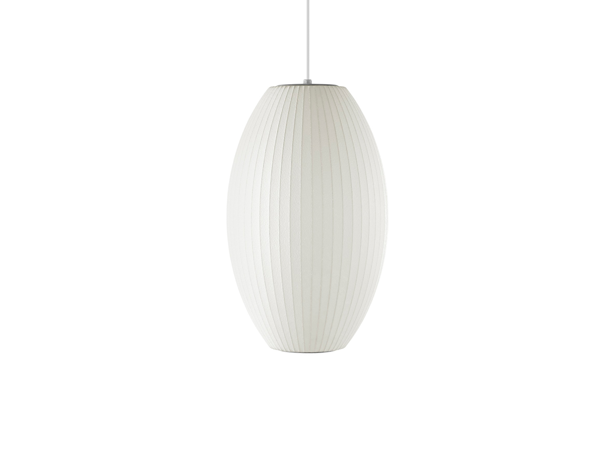 Buy the Herman Miller George Nelson Bubble Cigar Pendant Lamp at ...