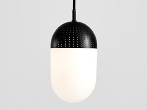 Woud Dot Pendant Light Large