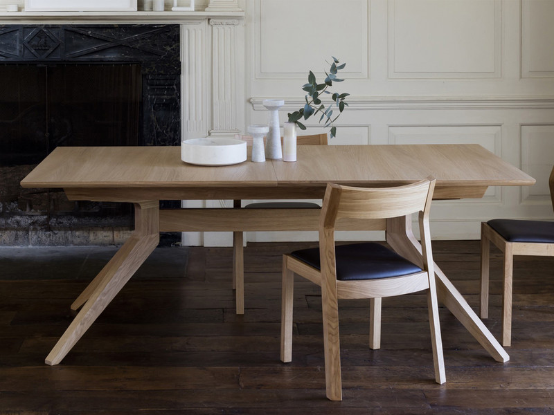 Case Furniture Cross Extending Dining Table