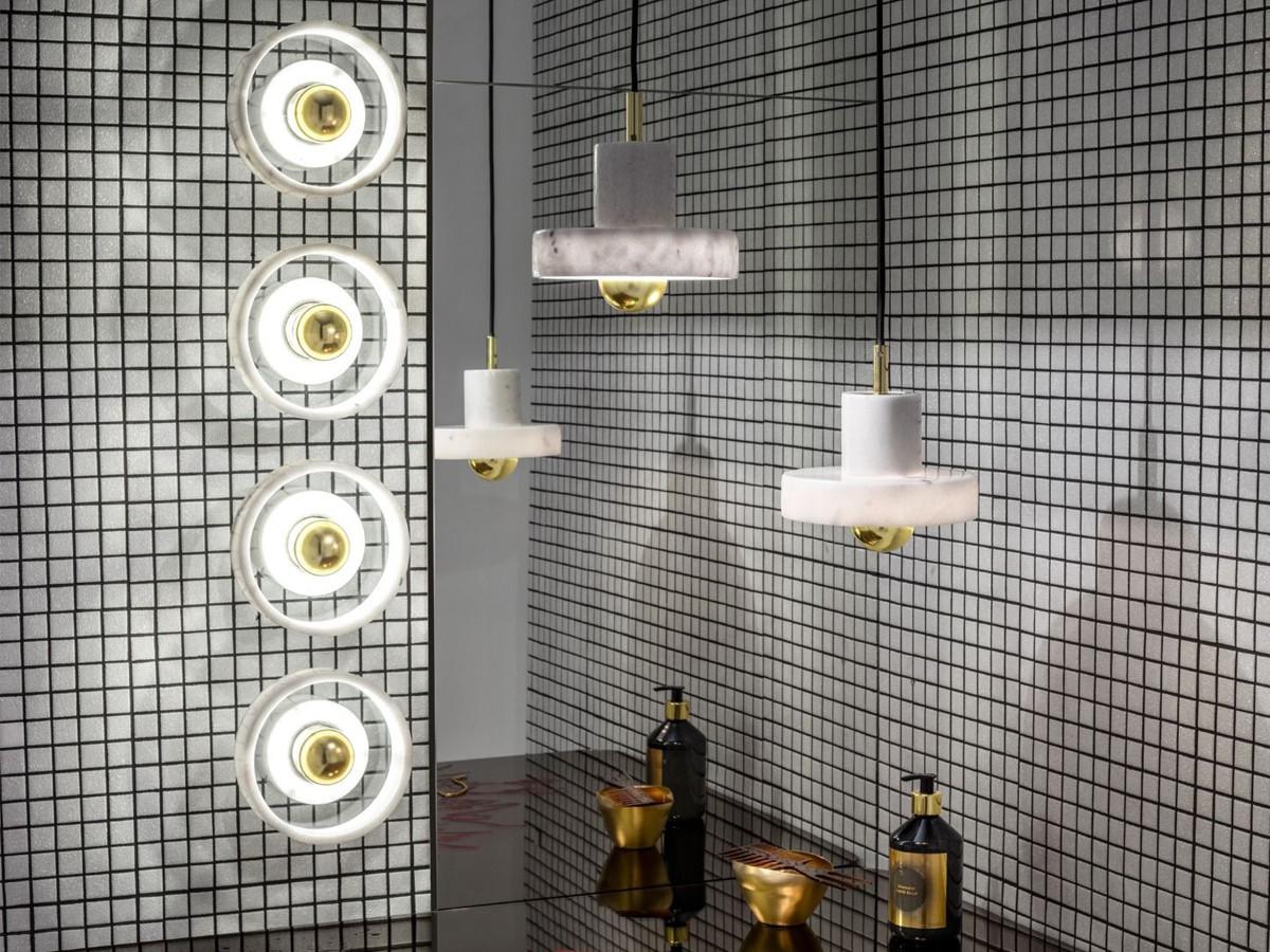 Buy The Tom Dixon Stone Pendant Light Ip44 At Nest Co Uk