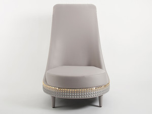 Clearance Lee Broom Salon Lounge Chair & Footstool
