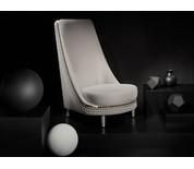 Clearance Lee Broom Salon Lounge Chair & Footstool