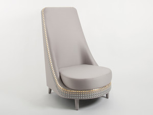 View Clearance Lee Broom Salon Lounge Chair & Footstool